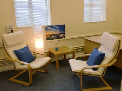 Ipswich counselling service | Counselling room at the Bridge Counselling Service, Ipswich